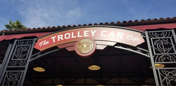 Valentine's Cupcake Trolley Car Cafe