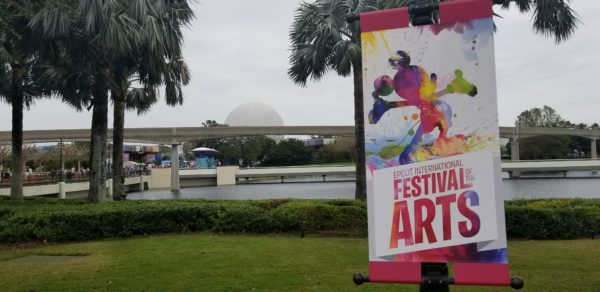 Everyone Is Talking About Epcot's 2nd International Festival of the Arts 1