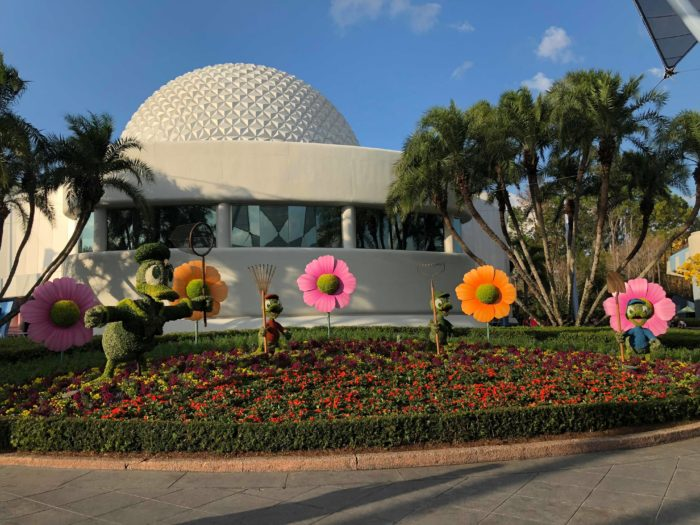 Topiaries Are Making Their Way Out for Epcot Flower and Garden Festival 2