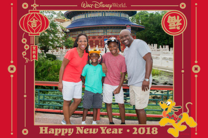 Epcot Lunar New Year