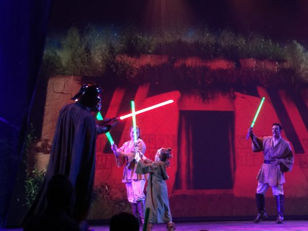 Jedi Training: Trials of the Temple - Star Wars Day at Sea – Disney Cruise Line 5