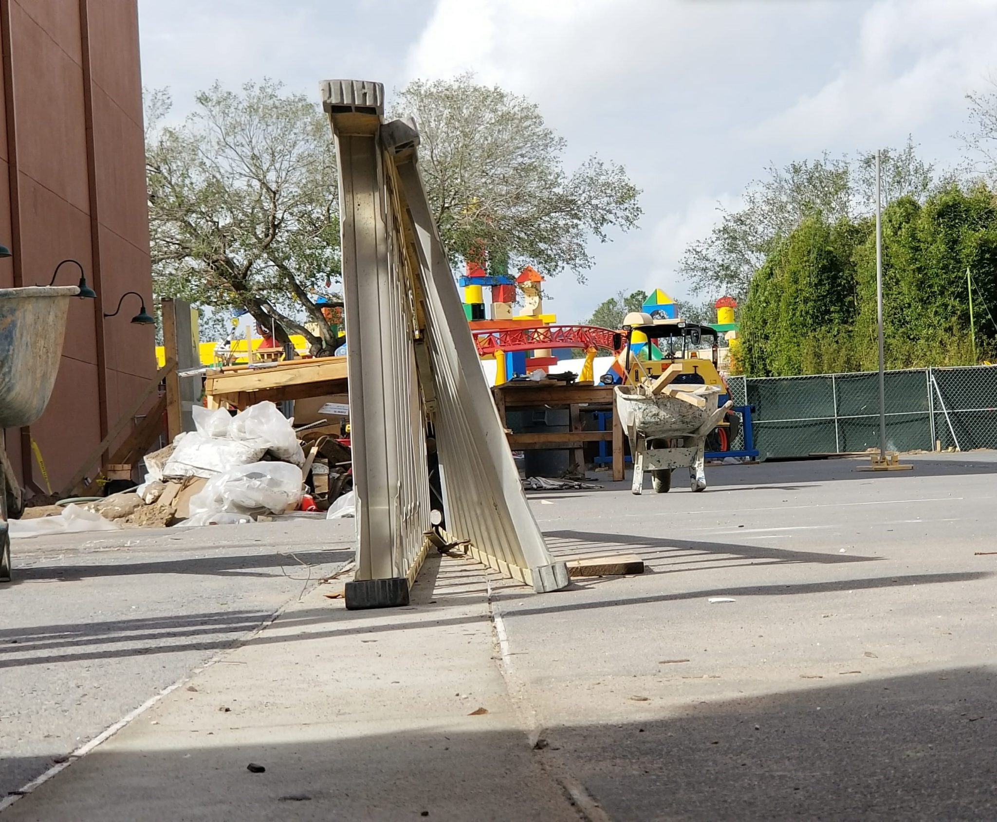 Toy Story Land Construction