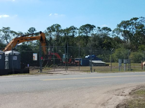 Photos: Disney is Clearing Trees to Begin Tron Construction 3