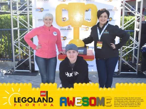 NEW! The Great LEGO Race VR Coaster - LEGOLAND Florida 11