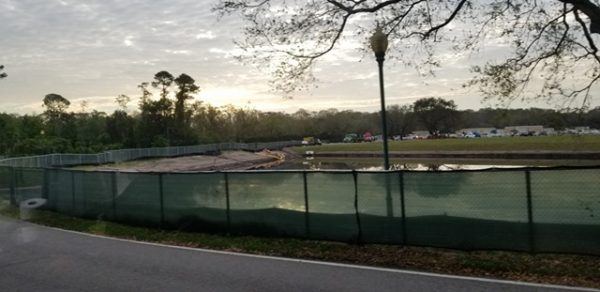 Construction at Disney's Caribbean Beach Resort Update 2