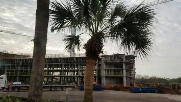 Construction at Disney's Caribbean Beach Resort Update 12