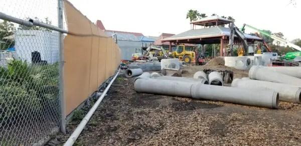 Construction at Disney's Caribbean Beach Resort Update 8