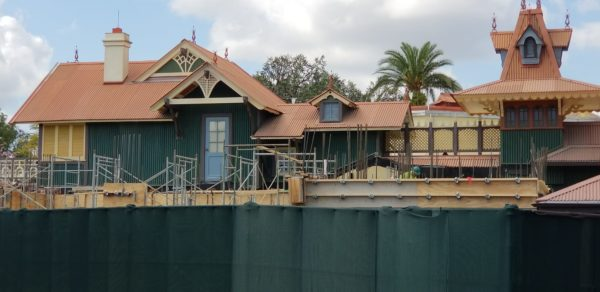 Potential Club 33 Construction Update from the Adventureland Veranda At Magic Kingdom 1