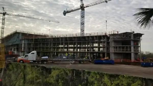 Construction at Disney's Caribbean Beach Resort Update 13