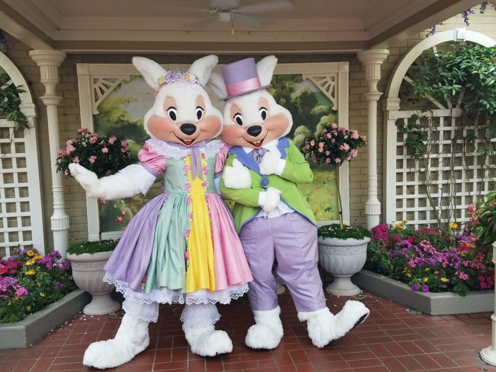 Mr. and Mrs. Easter Bunny Are Now In the Magic Kingdom! 1