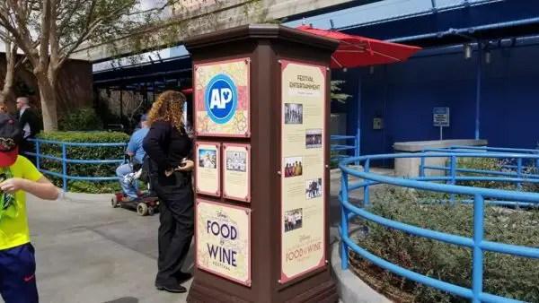 Food and Wine Festival Passholder Area at Disney's California Adventure 4