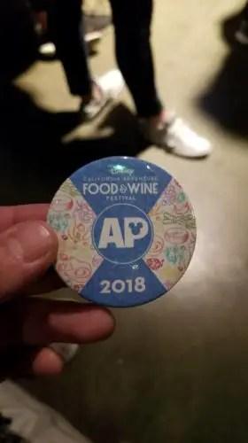 Food and Wine Festival Passholder Area at Disney's California Adventure 9