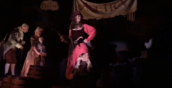 Pirates of the Caribbean Reopens Today with New Auction Scene 3
