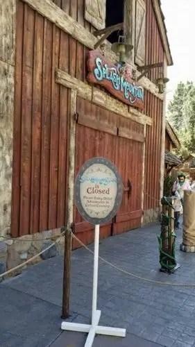 Disneyland Refurbishment Schedule for April 2018