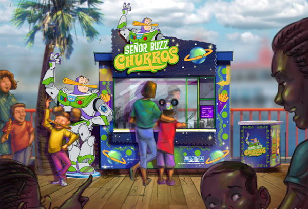 Senor Buzz's Churros