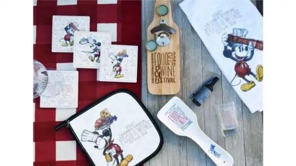 Disney California Adventure Food & Wine Festival Merchandise