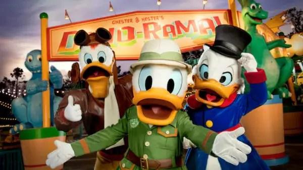 Donald's Dino Bash!