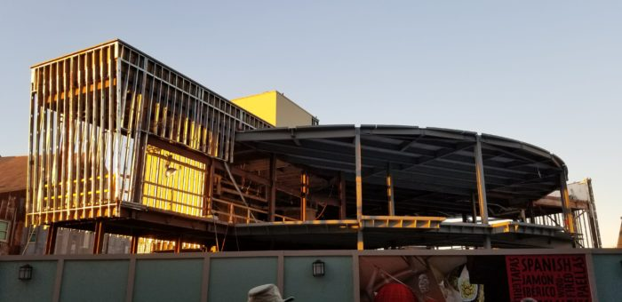 Construction Continues to Progress at Spanish Restaurant Jaleo in Disney Springs 3