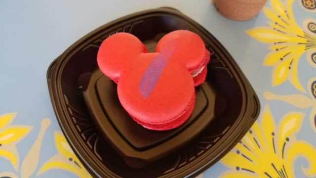 It's a Jolly Holiday with These Raspberry Rose Macarons Available at Disneyland 3