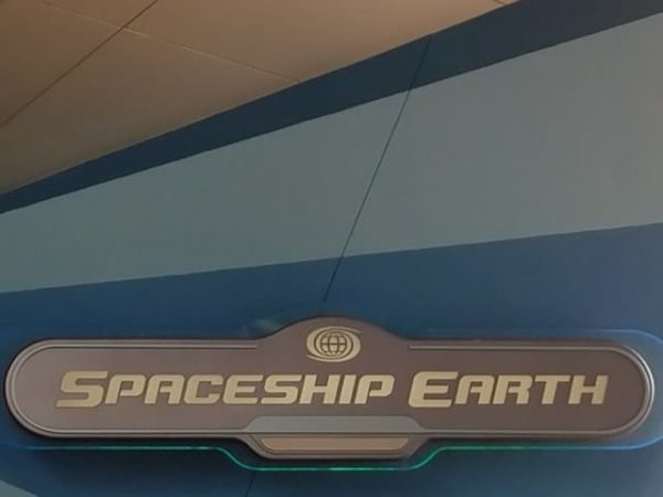 New Spaceship Earth sign