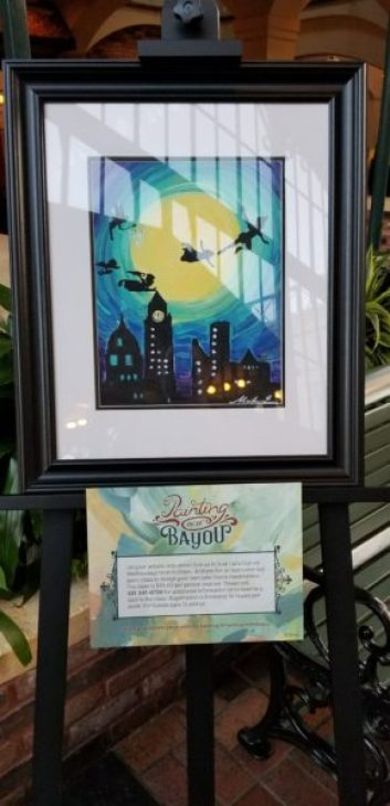 Port Orleans French Quarter Now Offering Painting Classes on Wednesday Evenings 3