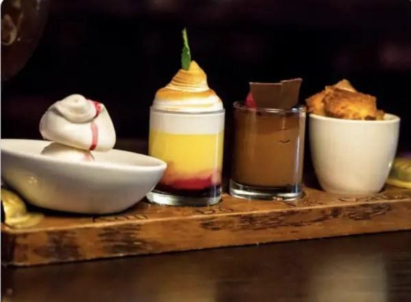 Raglan Road's dessert flight