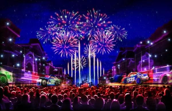 Video: Fireworks Testing For 'Together Forever – A Pixar Nighttime Spectacular' At Disneyland 2