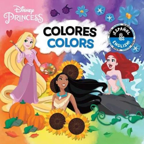 Disney Character Bilingual Books