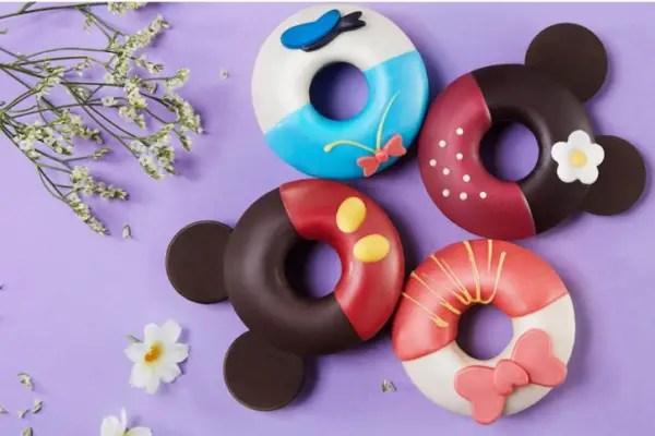 Character donuts at Shanghai Disneyland