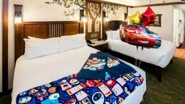 Pixar Decorated Room