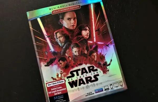The Last Jedi Blu-Ray