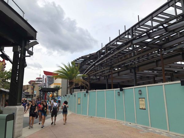 Construction Update in NBA Experience Coming to Disney Springs 1