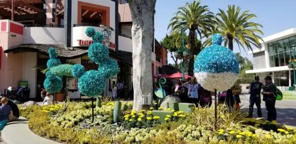 Artistic Topiaries Brighten Up Pixar Fest 2