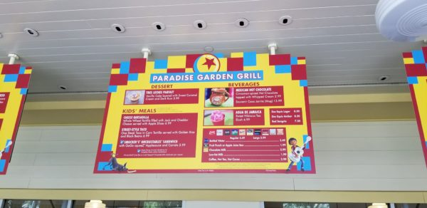 Celebrate Pixar Fest at Paradise Garden Grill at California Adventure 3