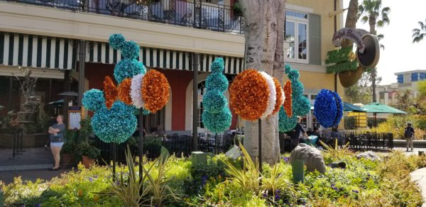 Artistic Topiaries Brighten Up Pixar Fest 3