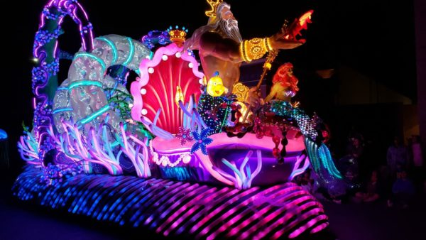 Paint the Night Parade Dazzles with Lights and Glitz