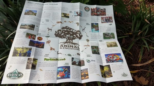 Animal Kingdom Earth Day Updated Park Guide Maps Out Today 3