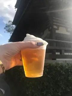 Japan frozen beer