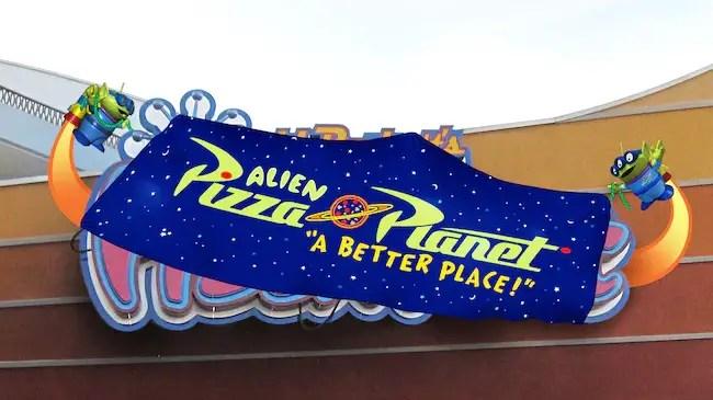 Alien Pizza Planet