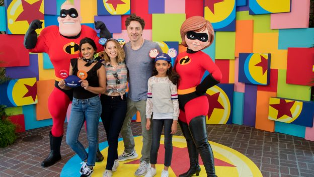 Zach Braff and Friends Visit Pixar Fest 1