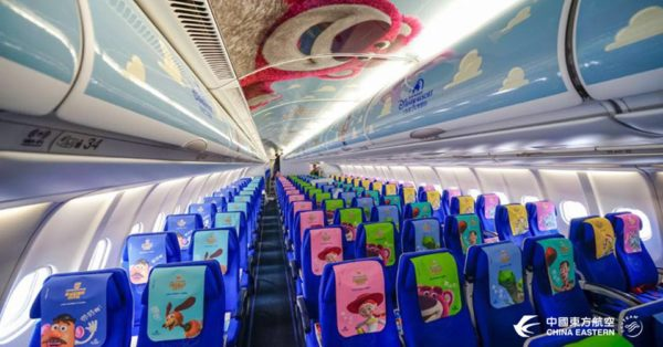 China Eastern Airline's Toy Story Themed Plane Takes Maiden Flight 4