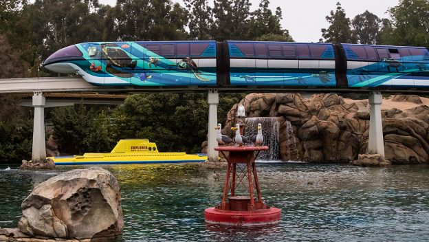Disneyland Unveils Pixar-themed Monorail Enhancements in Celebration of Pixar Fest 2