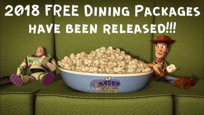 Free Dining 2018