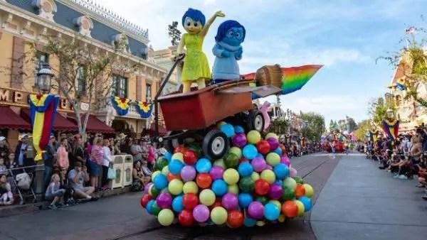 Go Behind The Scenes Of The Pixar Play Parade At Disneyland 1