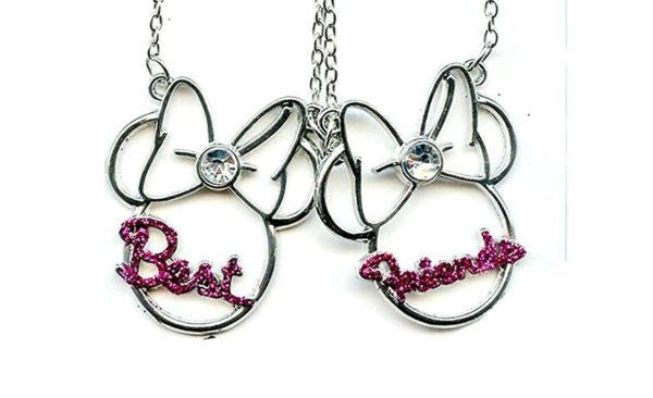 Minnie Mouse Best Friends Necklaces
