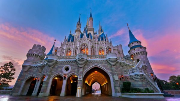 Sunrise Views Over Magic Kingdom Live May 1st with Disney Parks Blog
