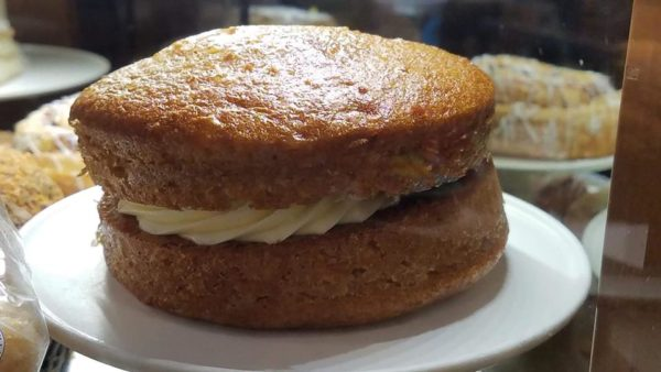 Trolley Car Cafe Carrot Cake Cookie