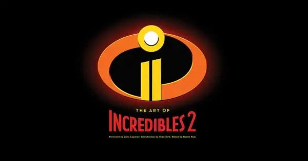 Art of Incredibles 2 book