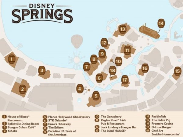 Experience The Disney Springs Bourbon Trail For A Limited Time Only 1