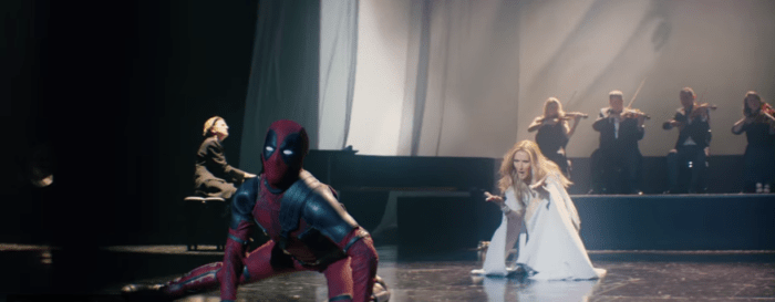 Deadpool 2 Celine Dion